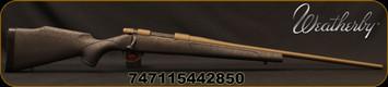 "Weatherby - 22-250Rem - Vanguard Weatherguard Bronze - Black Base Polymer Stock w/Bronze Webbing/Burnt Bronze Cerakote, 24""Threaded #2 Contour Barrel, Mfg# VWB222RR4T"