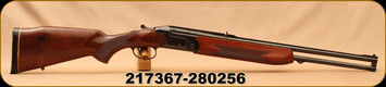 "Consign - Valmet - 30-06Sprg/9.3x74R - Model 412  2-Barrel Set - O/U - Walnut Stock/Blued, 23.5""Barrels, c/w Dies and scope mount - 120+pc Brass & 450 9.3x74R bullets available from seller - Contact store for details"