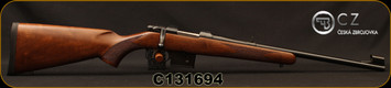"CZ - 7.62x39 - 527 Carbine - Bolt Action Rifle - Turkish Walnut Stock/Blued Finish, 18.5"" Barrel, 5 Round Detachable Box Magazine, Fixed Sights, Mfg# 5274-7304-BABKAB5, S/N C131694"
