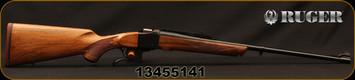 "Ruger - 275Rigby - No 1A Light Sporter - Grade A+ Walnut Stock/Blued Finish, 24""Blued Barrel, Express Sights, Mfg# 11399, S/N 13455141"
