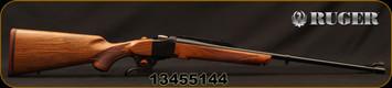 "Ruger - 275Rigby - No 1A Light Sporter - Grade A+ Walnut Stock/Blued Finish, 24""Blued Barrel, Express Sights, Mfg# 11399, S/N 13455144"