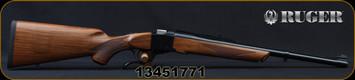 """Ruger - 450Marlin - No.1S Medium Sporter - American Walnut Stock w/Alexander Henry Forearm/Blued, 20""""Barrel, Mfg# 21313, S/N 13451771"""