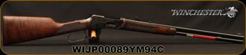 "Winchester - 30-30Win - 1894 Deluxe Short Rifle - Lever Action Grade V/VI Black Walnut/Case Hardened Receiver/Gloss Blued, 20""Barrel, 7 round Tubular Magazine, Mfg# 534284114, S/N WIJP00089YM94C"