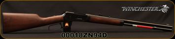 "Winchester - 38-55Win - Model 1894 Trails End Takedown - Lever Action - Grade I Black Walnut/Blued, 20""Barrel, Adjustable Semi-Buckhorn Rear Sight, Mfg# 534191117, S/N 00018ZN94D"
