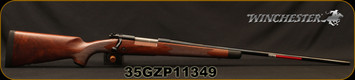 "Winchester -264WM - Model 70 Super Grade - Bolt Action Rifle - Grade V/VI Full Fancy Walnut Stock With Shadowline Cheekpiece/Polished Blued, 26""Barrel, 3 Round Hinged Floorplate, Mfg# 535203229, S/N 35GZP11349"