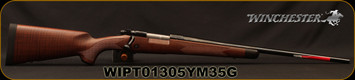 "Winchester - 6.5Creedmoor - Model 70 Super Grade - Bolt Action Rifle - Grade V/VI Full Fancy Walnut Stock With Shadowline Cheekpiece/Polished Blued, 22""Barrel, 4 Round Hinged Floorplate, Mfg# 535203289, S/N WIPT01305YM35G"