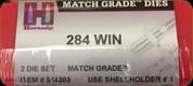 Hornady - Full Length Dies - 284 Win - Match Grade - 544303