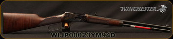 "Winchester - 38-55Win - 1894 Deluxe Short Rifle - Lever Action Grade V/VI Black Walnut/Case Hardened Receiver/Gloss Blued, 20""Barrel, 7 round Tubular Magazine, Mfg# 534284117, S/N WIJP00023YM94D"
