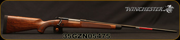"Winchester - 264WM - Model 70 Super Grade AAA French - Bolt Action Rifle - Grade AAA French Walnut w/Shadowline cheekpiece/Polished Blued Finish, 26"" Barrel, 3 Round Hinged Floorplate, Adjustable Trigger, Mfg# 535239229, S/N 35GZN05475"