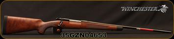 "Winchester - 280Rem - Model 70 - Super Grade LA - Grade IV/V Walnut Stock/Brushed Polish Finish, 24"" Cold Hammer Forged, Free Float Blued Barrel, Bedded Stock, Shadowline Cheekpiece, 3-5lbs Adjustable Trigger, MFG# 535203227, S/N 35GZN04653"