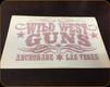 "Wild West Guns - 5"" Decal - Red"