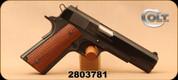 "Consign - Colt - 45ACP - Series 80 1991A1 - Semi-Auto - Wood Grips/Blued, 5""Barrel, 3 Magazines"