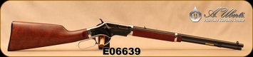 "Consign - Uberti - 22LR - Silverboy - Lever Action - Walnut Stock/Silver Receiver/Blued, 18.5""Barrel, Very low rounds fired"