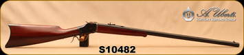 "Consign - Uberti - 45-70Govt - Model 1885 Highwall - Sporting Rifle - Walnut/Case Hardened Frame & Lever/Blued, 30""Octagon Barrel - Only 4 rounds fired - In original box"