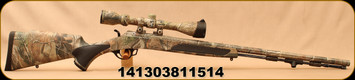 "Consign - Traditions - 50Cal - Vortek StrikerFire - Muzzleloader - Realtree Camo Finish w/Hogue Comfort-Grip Overmolding, 28""Barrel, TAC2 Trigger System, c/w 3-9x40 Traditions Scope, BDC Reticle - Only 30 rounds fired"