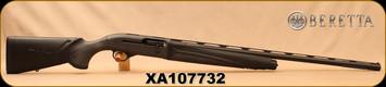 """Used - Beretta - 12Ga/3.5""""/30"""" - A400 Xtreme Unico - Semi-Auto - Black Synthetic/Matte Black, Optima Bore HP, 3 chokes, F,M,C - In original case & box"""
