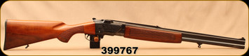 """Used - BRNO - 16Ga/7x57R/2.75""""/24 & 12Ga/2.75""""27.5"""" - O/U Model ZH324-ZH301 - 2 Barrel Set - Walnut Stock/Blued Barrels"""