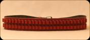 Levy's Leather - Cartridge Belt - Magnum - XL - Walnut - SN46-M-XL-WAL