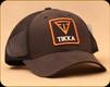 Tikka - Trucker Hat w/Logo Patch - Cotton Mesh Back - Black - 0855-006