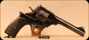 "Consign - Webley-Fosbery - 455Cordite - Semi-Automatic Revolver - Brown Grips/Blued, 5.98""Barrel"