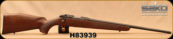 "Consign - Sako - 17HMR - Finnfire - Walnut Stock/Blued, 22""Barrel - Only 50 rounds fired - In non-origianl box"