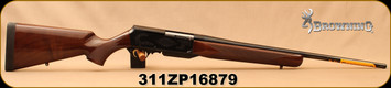 "Used - Browning - 308Win - BAR Mark II Safari - Semi-Auto Rifle - select gloss walnut stock w/Rounded forend/Engraved Receiver/Polished Blued, 22""Sporter style barrel, Mfg# 031001218 - New in box"