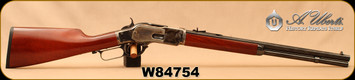 "Used - Uberti - 45Colt - 1873 Competition - Lever Action - Walnut Straight-Grip Stock/Case Hardened Frame/Lever/Blued, 20""Octagon Barrel, Mfg# 5989/2045 - In original box"