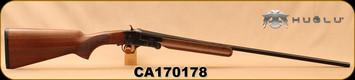 "Used - Huglu - 410Ga/3""/26"" - 301A Mini - Single Shot - Turkish Walnut/Case colored receiver/Chrome-Lined Barrels"