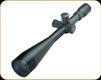 Sightron - SIIISS - 10-50x60mm - SFP - Long Range - Target Dot .1 MOA Ret - Matte - 25138