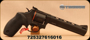 """Taurus - 38Spl/357Mag/9mm - Tracker 692 - Double Action - 7-shot Revolver - Black Rubber Grips/Black Oxide Finish, 6.5""""Ported Barrel, Fixed Front Sight, Adjustable Rear Sight, Mfg# -2-692061"""