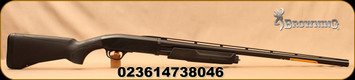 "Browning - 12Ga/3""/28"" - BPS Field Composite - Bottom Ejection Pump Action Shotgun - Matte Black Composite Stock/Matte Blued, Invector Plus Flush Chokes, Floating rib, Mfg# 012289304"