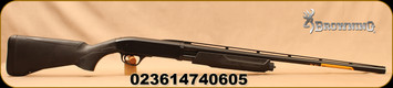 "Browning - 20Ga/3""/26"" - BPS Field Composite - Bottom Ejection Pump Action Shotgun - Matte Black Composite Stock/Matte Blued, Invector Plus Flush Chokes, Floating rib, Mfg# 012289605"