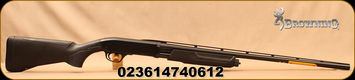 "Browning - 20Ga/3""/28"" - BPS Field Composite - Bottom Ejection Pump Action Shotgun - Matte Black Composite Stock/Matte Blued, Invector Plus Flush Chokes, Floating rib, Mfg# 012289604"