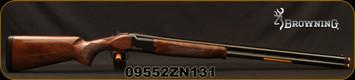 "Browning -12Ga/3""/30"" - Citori CXS - O/U Break Action Shotgun - Gloss Finish Grade II Walnut Stock/ Blued Barrels, Invector+ Chokes, Mfg#018073303 ,S/N 09552ZN131"