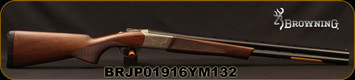 "Browning - 12Ga/3""/26"" - Cynergy Field - O/U - Grade II Satin Finish Walnut Stock/Silver Nitride finish low profile steel receiver/Matte Blued Barrels, Invector Plus Flush Chokes, Mfg# 018706305, S/N BRJP01916YM132"