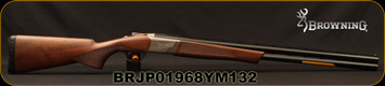 "Browning - 12Ga/3""/28"" - Cynergy Field - O/U - Grade II Satin Finish Walnut Stock/Silver Nitride finish low profile steel receiver/Matte Blued Barrels, Invector Plus Flush Chokes, Mfg# 018706304, S/N BRJP01968YM132"