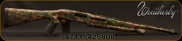 "Weatherby - 12Ga/3""/22"" - PA-459 Turkey - Pump Action Shotgun - Synthetic Stock/RealTree Xtra Green Camo Finish, 5 Rounds, Mfg# PA459XG1222PGM"