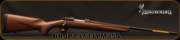 "Browning - 243Win - X-Bolt Hunter - Bolt Action Rifle - Satin walnut checkered grip stock/Matee Blued, 22""Barrel, 4rd Detachable Magazine, Mfg# 035208211, S/N BRJP13733YM354"