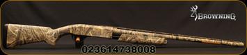 "Browning - 12Ga/3.5""/28"" - BPS Field Waterfowl - Pump Action Shotgun - Composite Stock Realtree Max-5 Camo Finish, 4 Round(2.75"")Capacity, Mfg# 012287204"