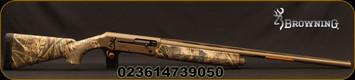 """Browning - 12Ga/3.5""""/28"""" - Silver Field - Semi-Auto Shotgun - Realtree Max5 Camo Composite Stock/Flat Dark Earth Cerakote, Invector+ Flush Chokes, 4rd(2.75"""")Capacity, Mfg# 011424204"""