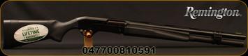 "Remington - 12Ga/3.5""/22"" - Versa Max Tactical - Semi Auto Shotgun - Black Synthetic Stock/Trinyte, 8 Round capacity, ProBore System: IC / Tactical Extended chokes, Mfg# 81059 - Gun is an actual 3.5"""