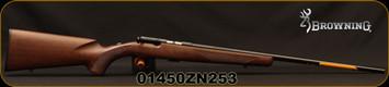 "Browning - 22LR - T-Bolt Sporter - Bolt Action Rimfire Rifle - Satin Finish Walnut Stock/Polished Blued, 22""Barrel, 10 Rounds, Mfg# 025175202, S/N 01450ZN253"