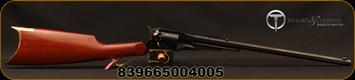 "Taylor's & Co - Uberti - 44Cal - Black Powder - 1858 Revolving Carbine - Walnut Stock/Brass Trigger Guard/Butt Plate/Blued, 18""Tapered Barrel, Mfg# 430B"