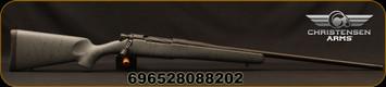 "Christensen Arms - 300PRC - Mesa - Lipsey's LTD Ed. - Long Action - Armor Grey w/Black Webbing Carbon Fiber Composite Stock/Black Cerakote, 24""(25.4"") with Muzzle Brake), 1:8""Twist, Mfg# 801-01045-00"
