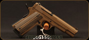 "Rock Island Armory - 22MRF - Model 1911-A1 XT22 - Single-Action Semi-Auto - Flat Dark Earth Cerakote, 4.8""Barrel, Mfg# 56786"