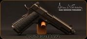 "Dan Wesson - 9mm - Wraith - Full Size 1911 - Semi Auto Pistol - G10 Grips/Distressed Duty Black Finish, 5.75""Threaded Barrel, 10 Rounds, Night Sights, Mfg# 01849"