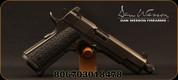"Dan Wesson - 45ACP - Wraith - Full Size 1911 - Semi Auto Pistol - G10 Grips/Distressed Duty Black Finish, 5.75""Threaded Barrel, 10 Rounds, Night Sights, Mfg# 01847"