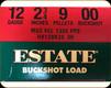 "Estate - 12 Ga 2.75"" - 9 Pellets - 00 Buckshot - Buckshot Load - 25ct - HV12BK25 00"