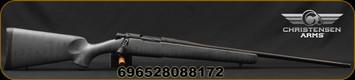 "Christensen Arms - 6.5Creedmoor - Mesa- Lipsey's LTD Ed. - Short Action - Armor Grey w/Black Web Carbon Fiber Composite Sporter Stock/Black Cerakote Finish, 22""Threaded Barrel, 4 Round Capacity, 1:8""Twist, Mfg# 801-01042-00"