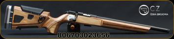 "CZ - 22LR - 457 Varmint AT-ONE - Brown Laminate Adjustable Boyd's Stock/Blued, 16.5"" Threaded Barrel, 5 Round Detachable Magazine, Mfg# 02365"